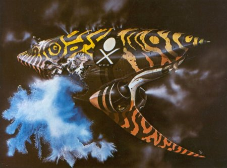 Chris Foss - Dune - Spice Pirate Ship